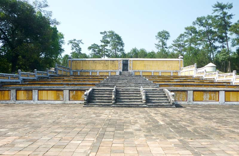 Gia Long Tomb, Hue, Vietnam