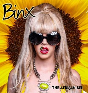 BEE FAMOUS: Clarendon old girl Binx , 24, is creating a buzz in the music industry with the release of her first EP dedicated to her father who died recently