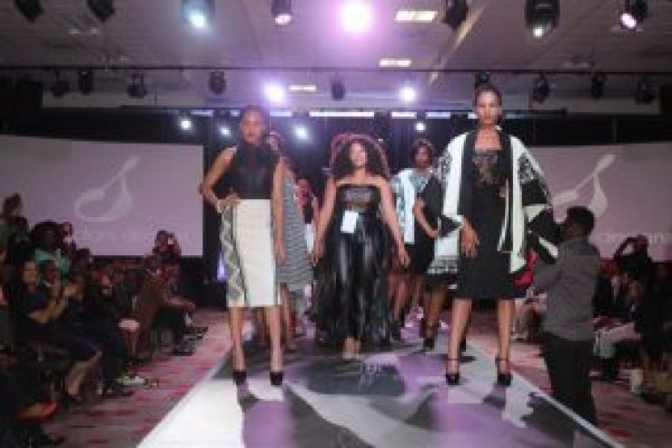 TOP DRAWER: The East London Fashion Walk saw some of the province's best local designers showing their creations on September 10Picture: QHAMANI LINGANI