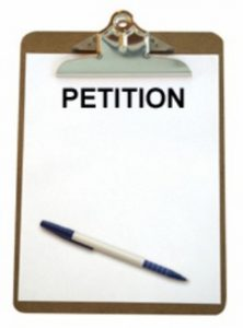 A petition was signed by BCM ratepayers. It will be submitted tothe executive mayor, Xola Phakathi.