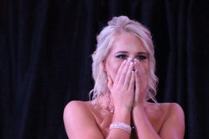 TAKING THE LAURELS: Dance extrodinaire Chace Collett is delighted to be crowned Miss Teen SA over the weekend