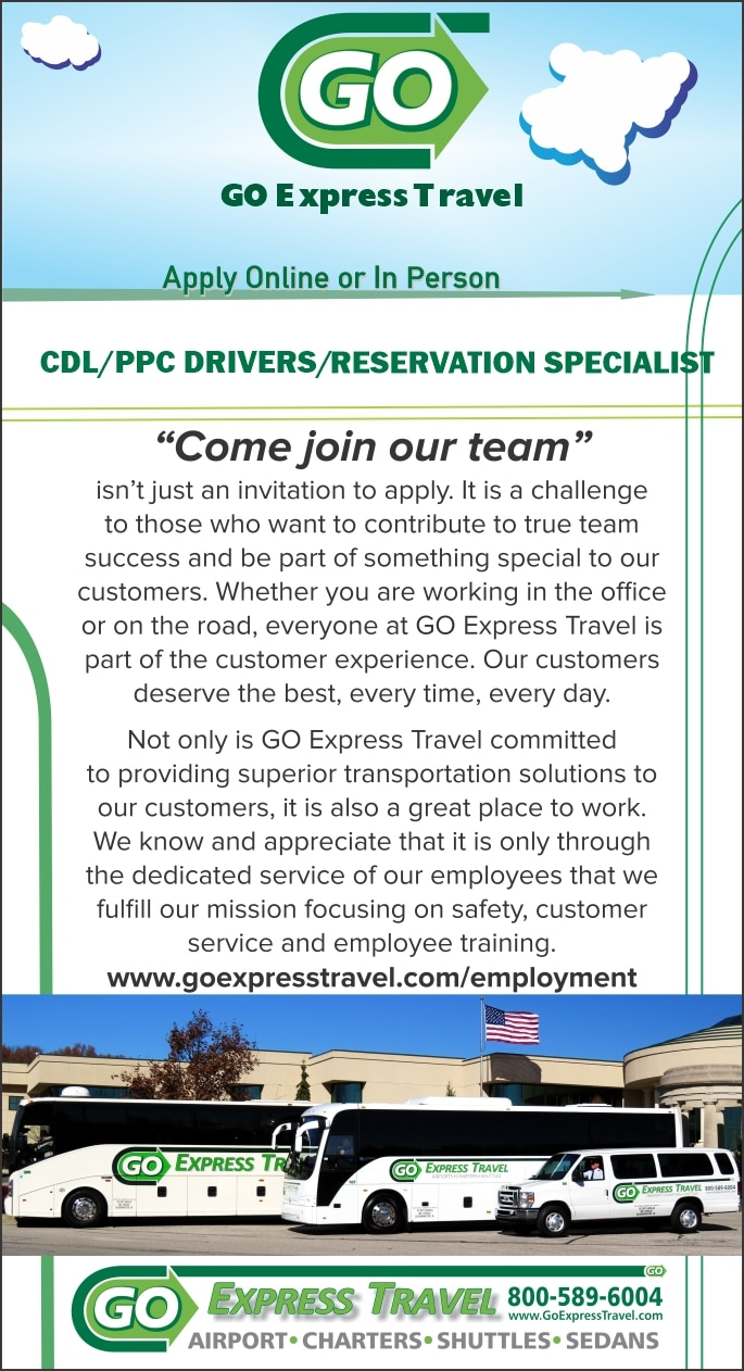 GO Express Travel is Hiring