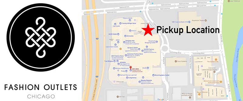Pick-up Locations Chicago Express Shuttle