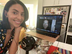 Jade Catta-Preta as she recorded Go Fact Yourself