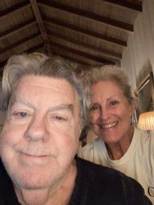 George Wendt and Bernadette Birkett