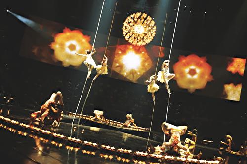 cirque beatles love here comes sun