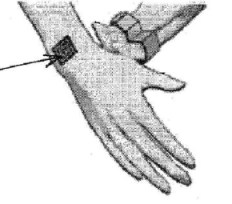 nokia tattoo that vibrates with cellphone call -- patent illustration