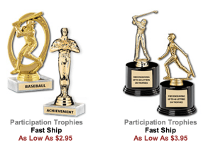 participation trophies