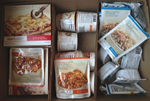 Nutrisystem Lunch and Dinner