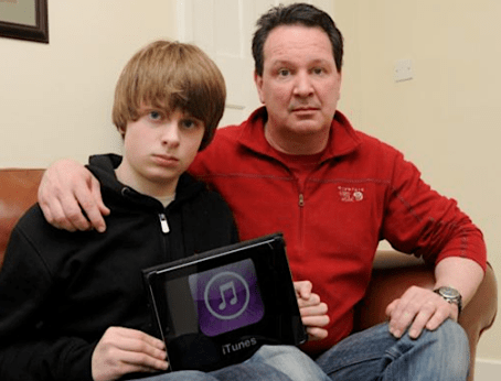 13yo accused of iTunes fraud