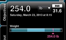 week 6 weight: nutrisystem