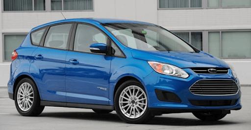 ford cmax hybrid, blue