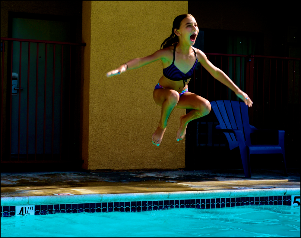 The Leap Before The Splash!