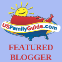 US Family Guide Featured Blogger medallion