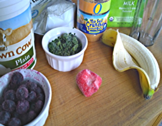 smoothie fruit veggie ingredients