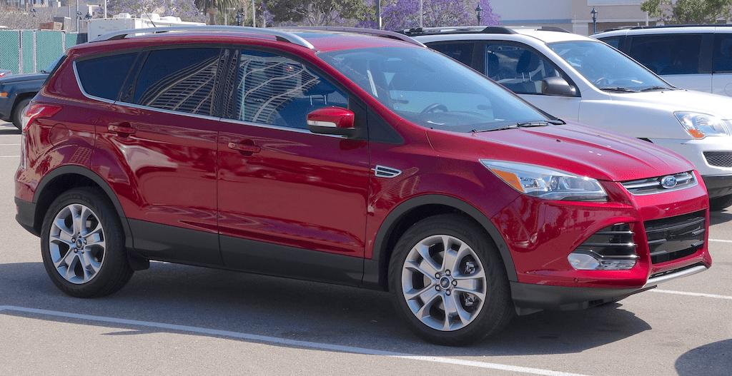 2014 Ford Escape - red