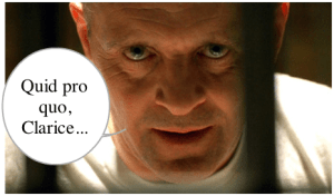 Silence of the Lambs: Quid Pro Quo