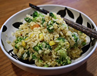 dave's super easy fried rice