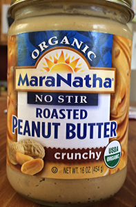 maranatha no-stir roasted peanut butter organic