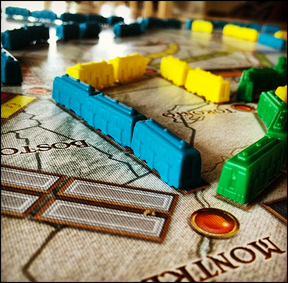 Ticket to Ride USA from Days of Wonder