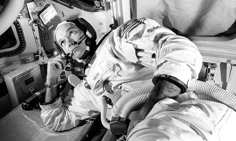 Astronaut Mike Collins, NASA Apollo 11