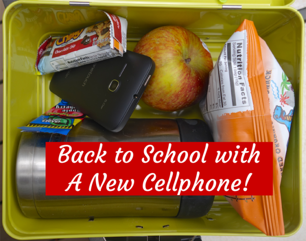back to school with a new alcatel one touch evolve cellphone from walmart