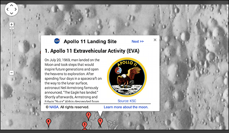 sea of tranquility landing spot apollo 11 mission