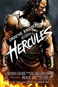 hercules 2014 dwayne johnson movie poster one sheet