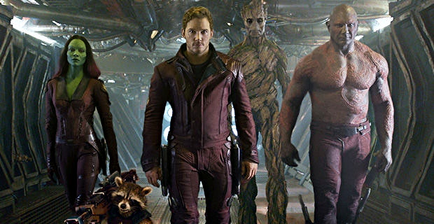 The Guardians of the Galaxy, ready for action!