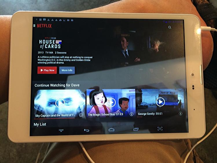 Netflix ready to go!