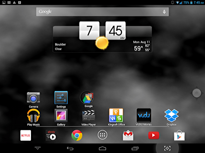 trio axs home screen android jelly bean 4.2.2
