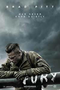 fury movie one sheet poster