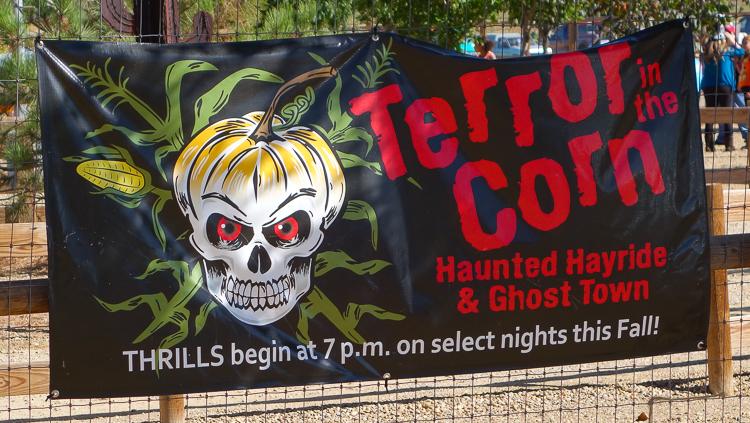 anderson farm terror in the corn sign