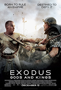 exodus gods and kings movie poster one sheet