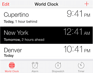 late night iphone clock - parenting - smart cellphone usage nighttime limits