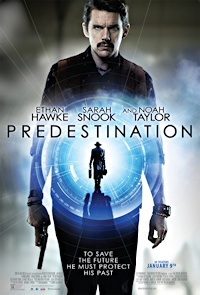 predestination movie ethan hawke sci-fi time travel one sheet poster review