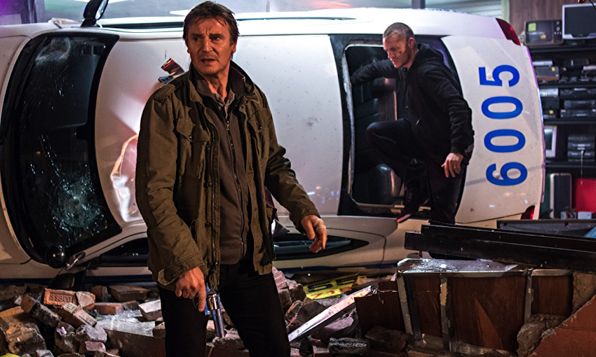 liam neeson run all night publicity still photo