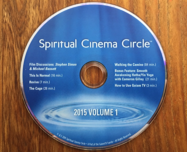 spiritual cinema circle dvd disc movie