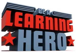 be a learning hero logo