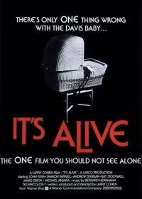 it's alive one sheet movie poster