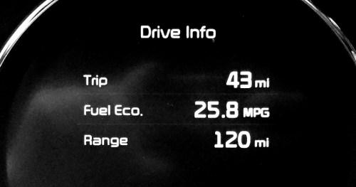 fuel efficiency 2016 kia sorento