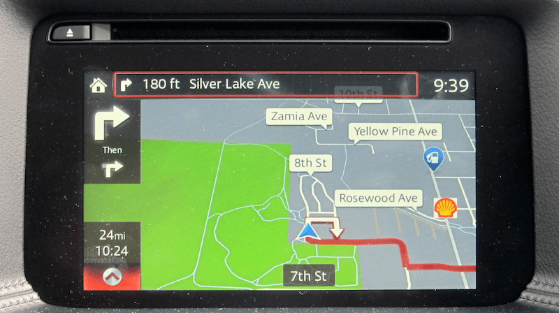 navigational system grand touring tech package mazda