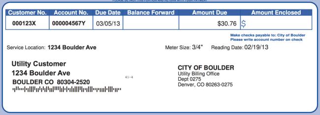 city of boulder faux mock power bill sample demo