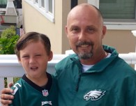 dan and his son, childhood cancer