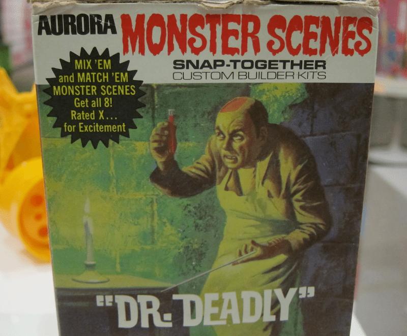 aurora monster scenes model