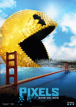 pixels movie one sheet poster