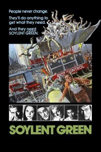 soylent green movie poster one sheet