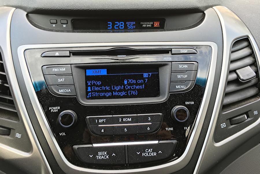 stereo console, 2015 hyundai elantra
