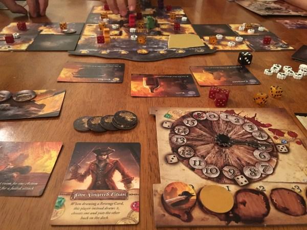 dead men tell no tales, game in progress