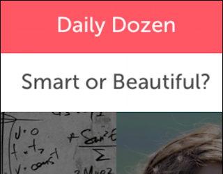 teen tween survey poll smart or beautiful wishbone mobile smartphone app